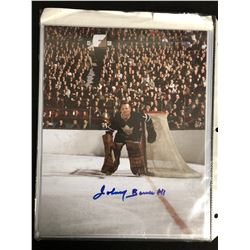 JOHNNY BOWER SIGNED 8X10 PHOTO (CLASSIC AUCTIONS LOA)