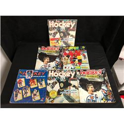 1980'S HOCKEY STICKER ALBUM LOT