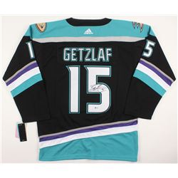 RYAN GETZLAF SIGNED DUCKS JERSEY (BECKETT COA)