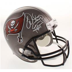 Warren Sapp Signed Tampa Bay Buccaneers Full-Size Helmet Inscribed  HOF '13  (JSA Hologram)