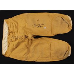 Jerry Rice Signed Vintage Football Pants (PSA COA)