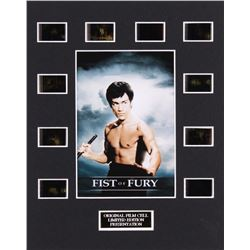 """""""Fist of Fury"""" LE 8x10 Custom Matted Original Film / Movie Cell Display"""