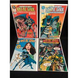 THE SAGA OF RAS AL GHUL COMIC BOOK LOT (DC COMICS)
