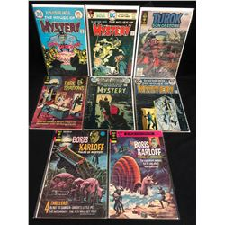 COMIC BOOK LOT (HOUSE OF MYSTERY/ BORIS KARLOFF...)