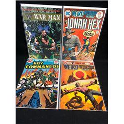 DC COMICS BOOK LOT (JONAH HEX/ BOY COMMANDOS/ WEIRD WESTERN TALES...)