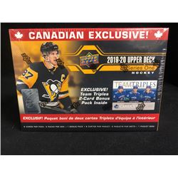 2019-20 UPPER DECK HOCKEY SERIES ONE BLASTER BOX