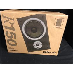 POLK AUDIO R150 BOOKSHELF SPEAKERS (ONE PAIR) NIB