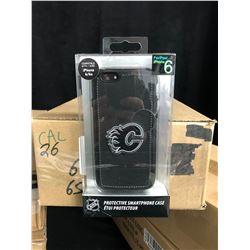 NHL PROTECTIVE iPHONE CASE (FLAMES) COMPATIBLE W/ iPHONE P PLUS/ 6s PLUS (25 CASES PER BOX)