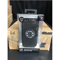 NHL PROTECTIVE iPHONE CASE (BRUINS) COMPATIBLE W/ iPHONE P PLUS/ 6s PLUS (25 CASES PER BOX)