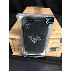 NHL PROTECTIVE iPHONE CASE (PENS) COMPATIBLE W/ iPHONE P PLUS/ 6s PLUS (25 CASES PER BOX)