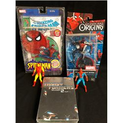 SPIDER-MAN TOY FIGURES LOT