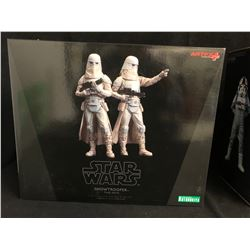 ARTFX COLLECTIBLE TOYS SNOWTROOPER TWO PACK 1/10 SCALE PRE-PAINTED MODEL KITS