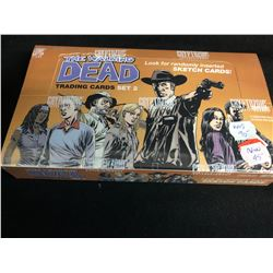 THE WALKING DEAD TRADING CARDS SET 2 HOBBY BOX