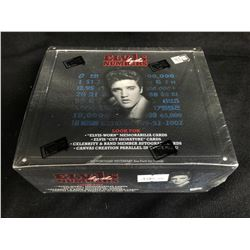 ELVIS BY THE NUMBERS TRADING CARDS (SEALED HOBBY BOX)