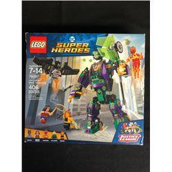 LEGO DC Super Heroes Lex Luthor Mech Takedown 76097 Building Kit 406 Pcs