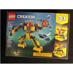 Lego Creator 3 in 1 Underwater Robot (31090)