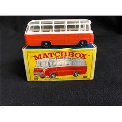 Vintage Matchbox Mercedes Coach Bus #68