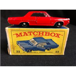 Lesney Matchbox Series #22 PONTIAC GP SPORTS COUPE
