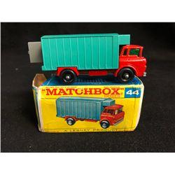 Vintage Matchbox Series #44 GMC Refrigerator Truck