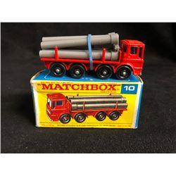 Diecast Lesney Matchbox #10 Pipe Truck 1966 Made In England