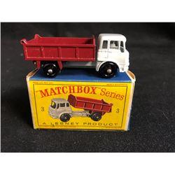 Diecast Lesney Matchbox Series #3 Bedford 7 1/2 Ton Tipper Dump Truck