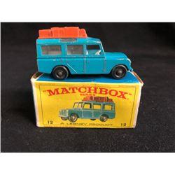 Lesney Matchbox Series #12 Land Rover Safari
