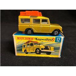 Matchbox Lesney Superfast #12 Land Rover Safari 1969