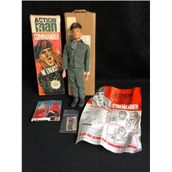 1960'S ACTION MAN COMMANDER TALKING FIGURE WITH ORIGINAL BOXES (MINT)