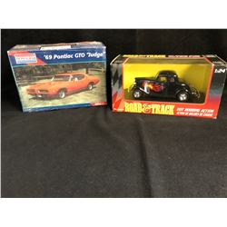 "MODEL CAR LOT (MONOGRAM UNASSEMBLED 69' PONTIAC GTO ""JUDGE""/ ROAD & TRACK)"