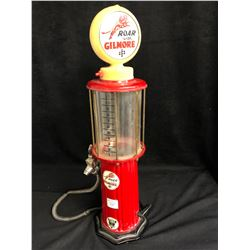 "Vintage MINI 21"" GILMORE GAS PUMP"
