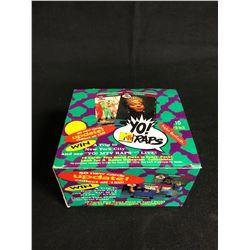 YO! MTV RAPS COLLECTOR CARDS HOBBY BOX