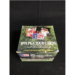 1991 PGA TOUR CARDS HOBBY BOX