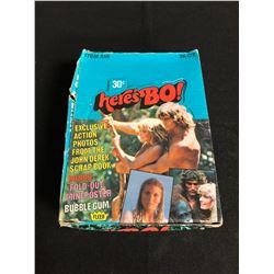 (FLEER) here's BO! TRADING CARDS HOBBY BOX