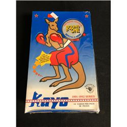 KAYO 1991-92 SERIES ROUND ONE BOXING CARDS HOBBY BOX