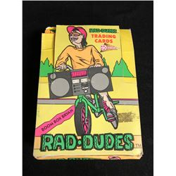 PACIFIC RAD-DUDES TRADING CARDS HOBBY BOX