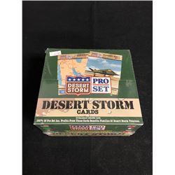 (PROSET) DESERT STORM CARDS HOBBY BOX