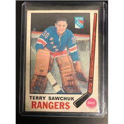 1969-70 TOPPS #189 TERRY SAWCHUK