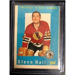 1959-60 Topps #32 Glenn Hall
