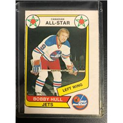 Bobby Hull 1976-77 CANADIAN ALL-STAR Card #65