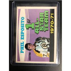 1971-72 O-Pee-Chee #253 Phil Esposito