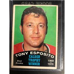 1970 O-Pee-Chee #247 Tony Esposito Calder Trophy
