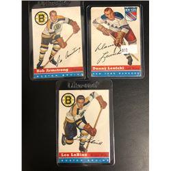 1954-55 TOPPS HOCKEY CARD LOT
