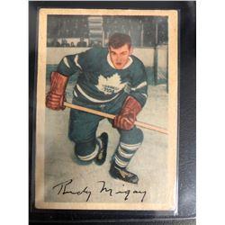 1953-54 Parkhurst #17 Rudy Migay