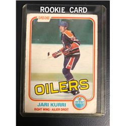 1981-82 O-Pee-Chee #107 Jari Kurri Rookie Card
