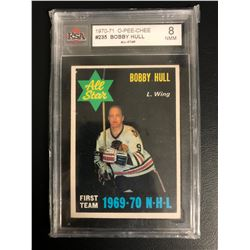 1970-71 O-PEE-CHEE #235 BOBBY HULL ALL-STAR (8 NMM)