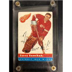 1954-55 Topps #58 Terry Sawchuk