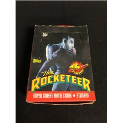 (TOPPS) THE ROCKETEER SUPER GLOSSY MOVIE CARDS/ STICKERS HOBBY BOX