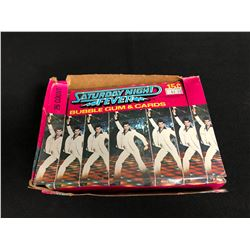 SATURDAY NIGHT FEVER BUBBLE GUM & CARDS HOBBY BOX