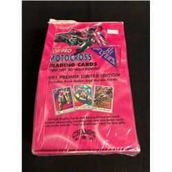 (CHAMPS) TOP PRO MOTOCROSS TRADING CARDS HOBBY BOX