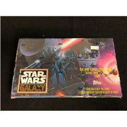 (TOPPS) STAR WARS GALAXY DELUXE TRADING CARDS HOBBY BOX